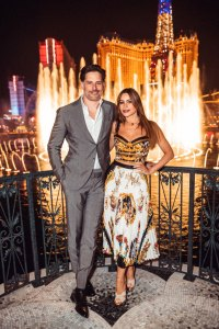 Sofia Vergara and Joe Manganiello at The Mayfair Supper Club