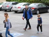 ben affleck spends time with kids after ana de armas vacation
