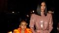 kim kardashian daughter north makes 'quarantine' house for dolls
