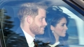 meghan markle and prince harry join queen elizabeth at church