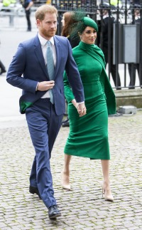 Meghan Markle and Prince Harry Commonwealth Day Service, Westminster Abbey, London, UK - 09 Mar 2020