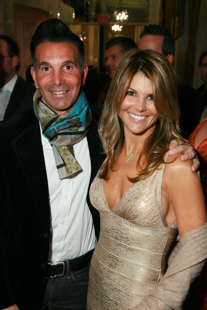 Mossimo Giannulli and Lori Loughlin Dressed Up Smiling