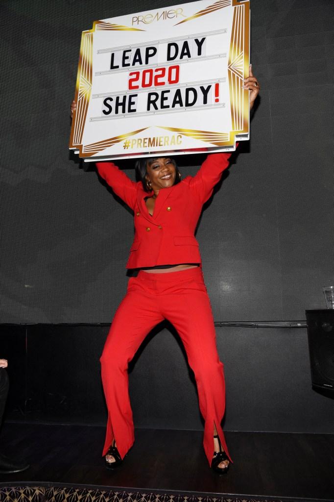Tiffany haddish she ready sign