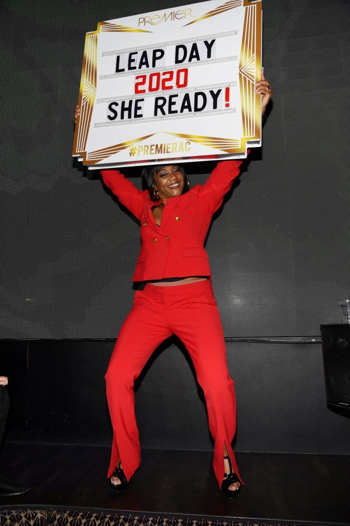 Tiffany haddish she ready sign