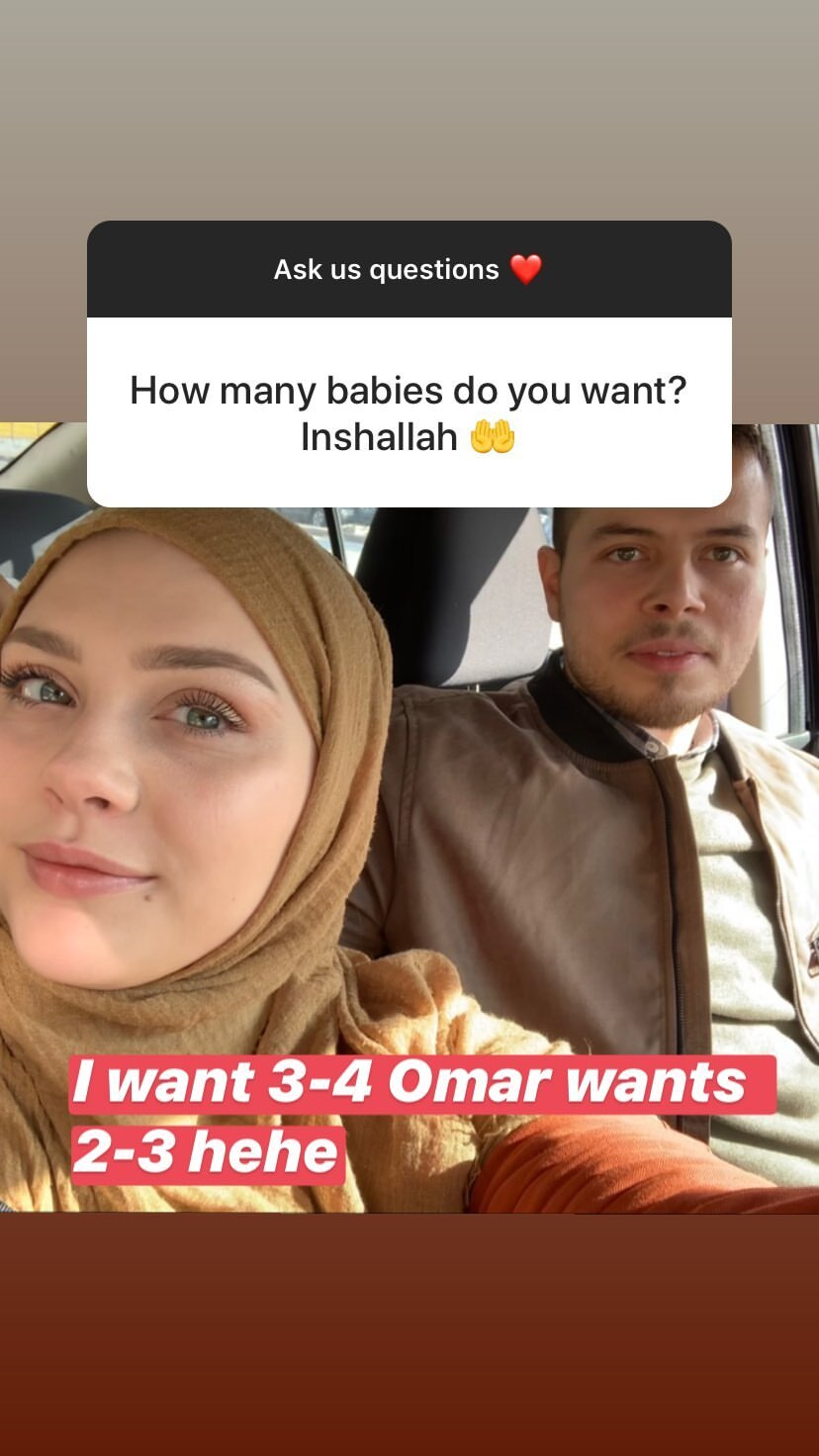 Avery Mills and Omar's Baby Plans