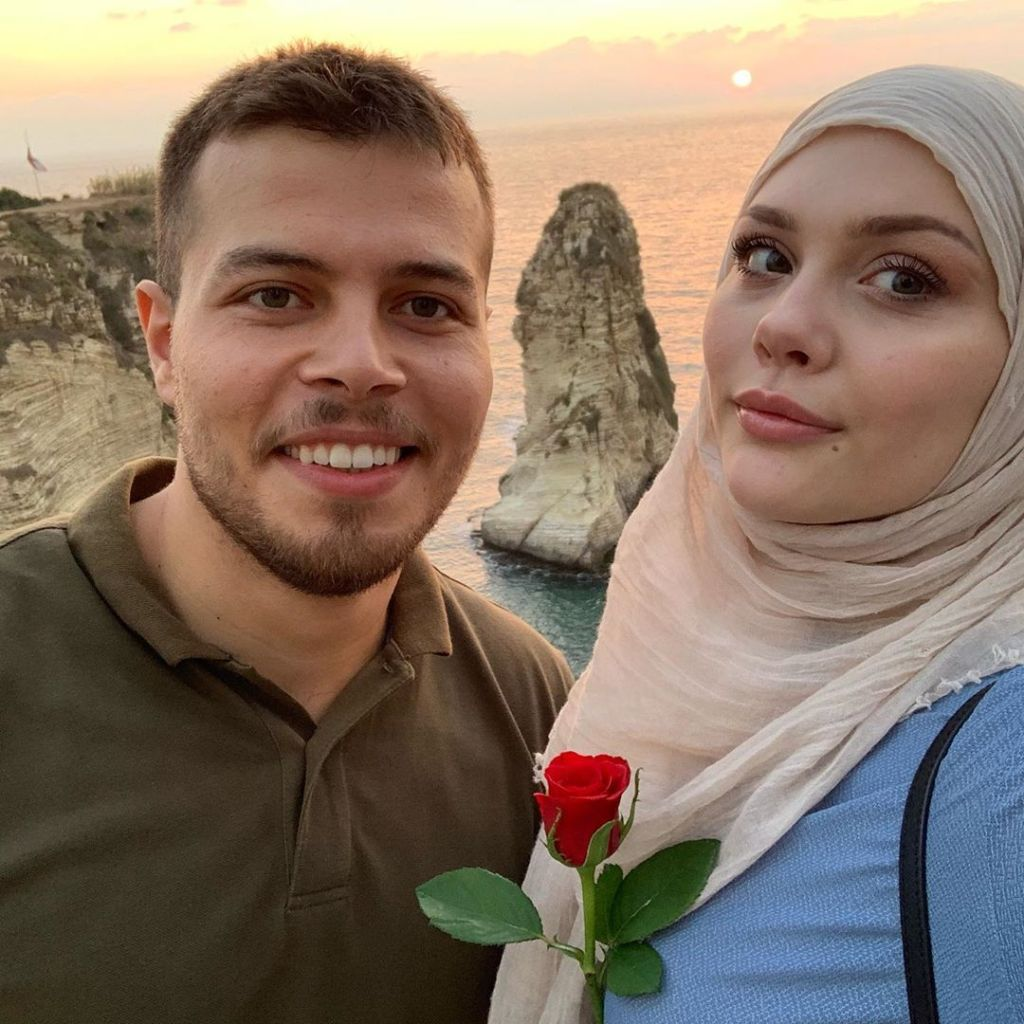 Avery Mills and Omar Albakkour Selfie