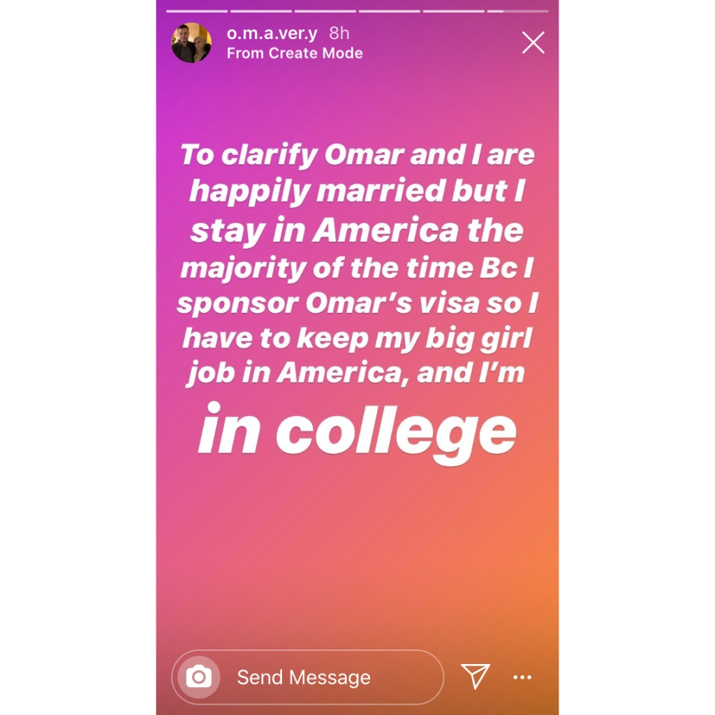 90 Day Fiance Star Avery Mills Says She Still Lives in America Despite Marriage to Omar Albakkour