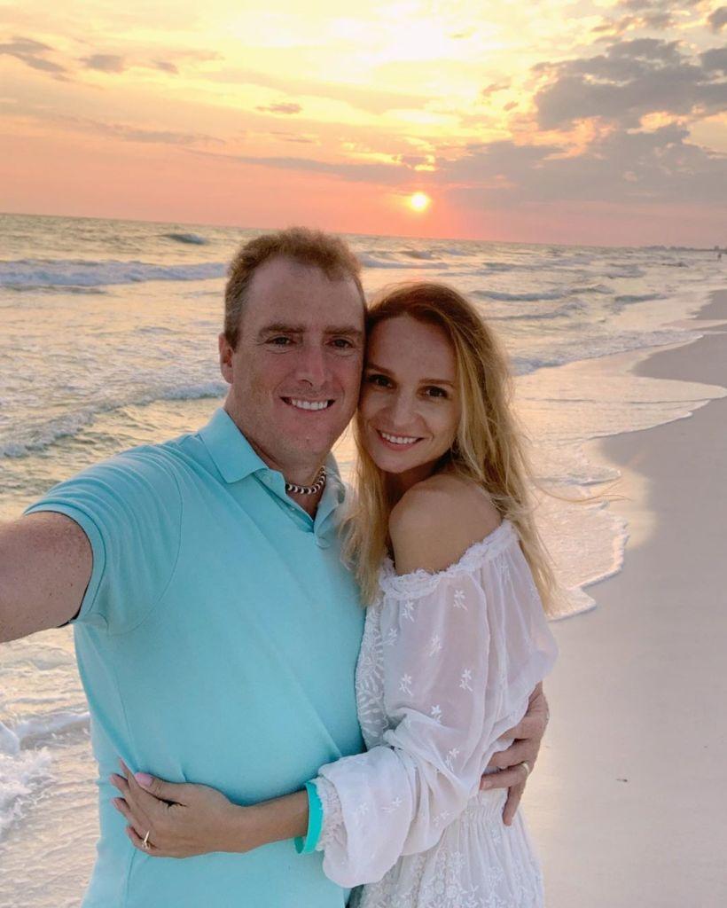 90 Day Fiance Stars Alla Fedoruk and Matt Ryan Selfie on Beach