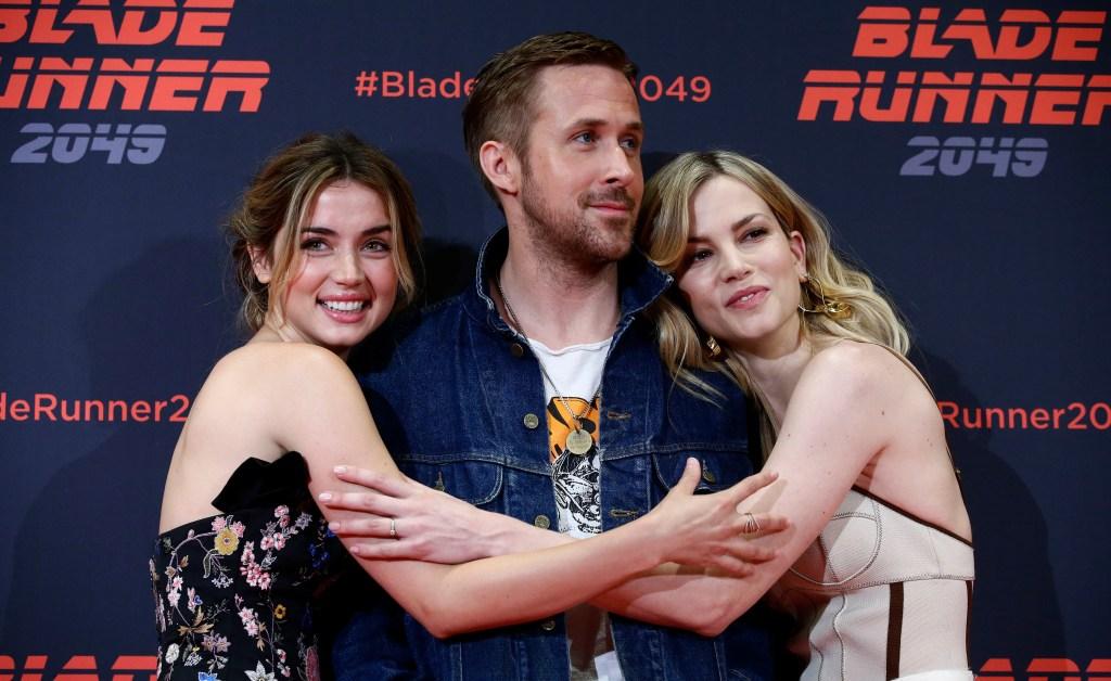 Ana de Arma Ryan Gosling Blade Runner 2049