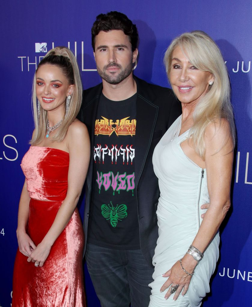 Brody Jenner, Kaitlynn Carter and Linda Thompson at The Hills New Beginnings TV Show Party
