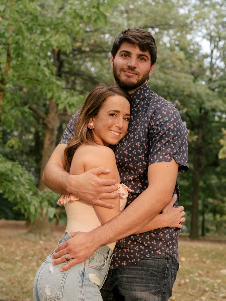 Married at First Sight Stars Derek and Katie Embracing