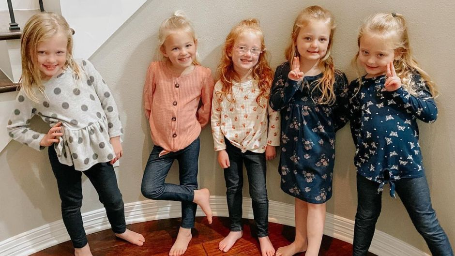 How Old Are the Busby Quints on 'OutDaughtered'? Names and Pics