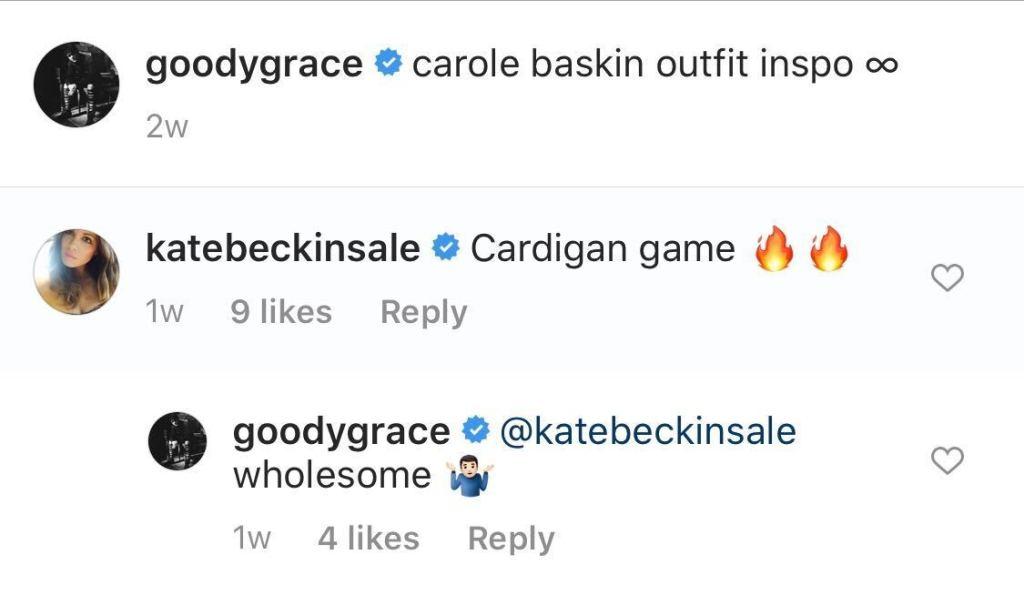 kate beckinsale gcoody grace flirt