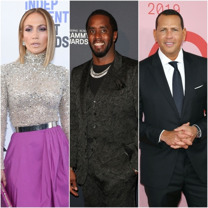 Jennifer Lopez, Ex Diddy and Fiance A-Rod Have Drinks Over Video Chat