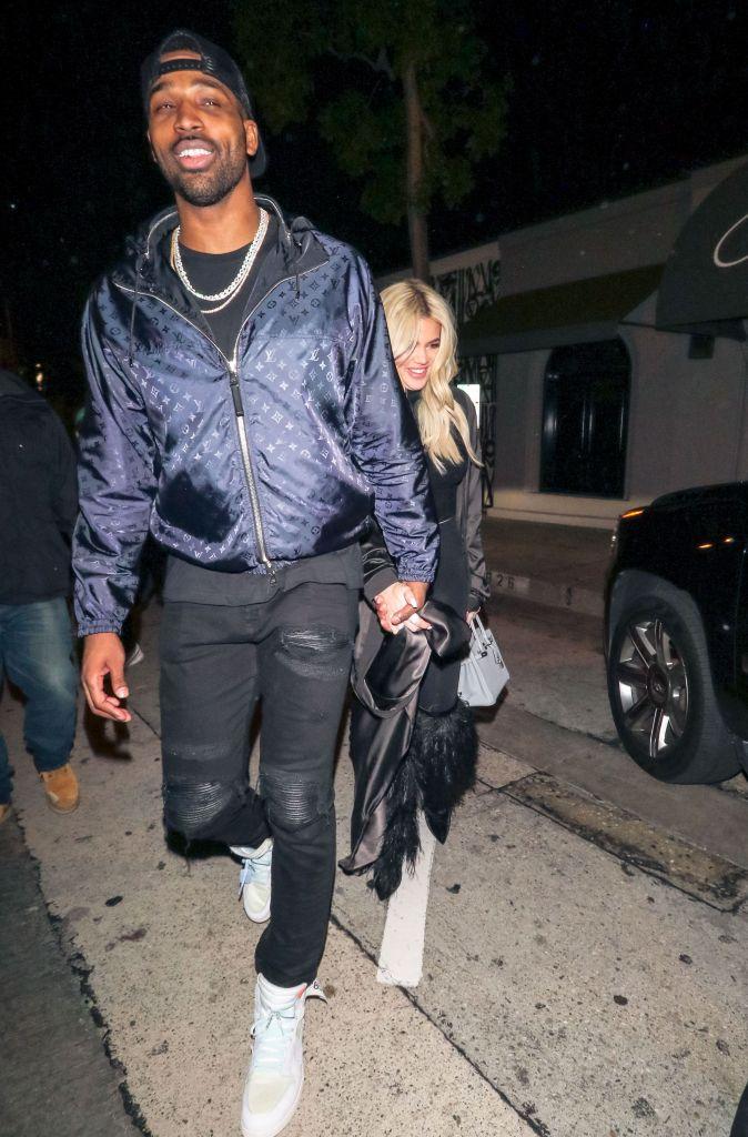 Khloe Kardashian Tristan Thompson on a Date