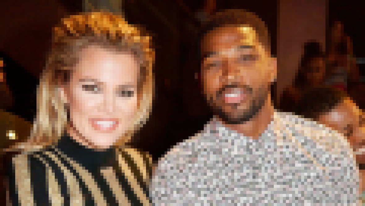 Khloe Kardashian and Tristan Thompson in 2016