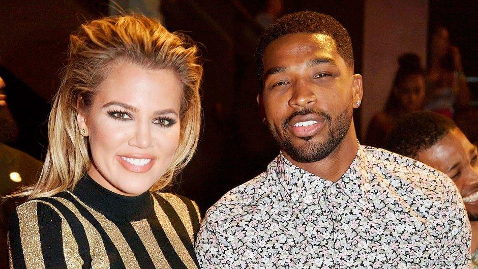 Khloe Kardashian and Tristan Thompson in 2016