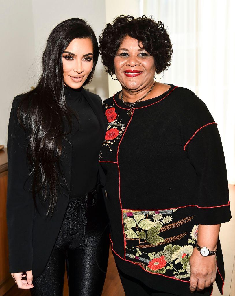 Kim Kardashian Alice Johnson