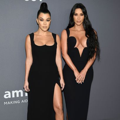 Kourtney Supports Kim's New Show After Fight