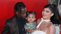 Travis Scott and Kylie Jenner With Daughter Stormi Webster