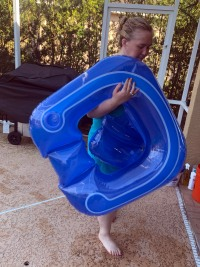 Mama June at the Pool