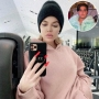 Inset Photo of Mason Disick Over Photo of Khloe Kardashian