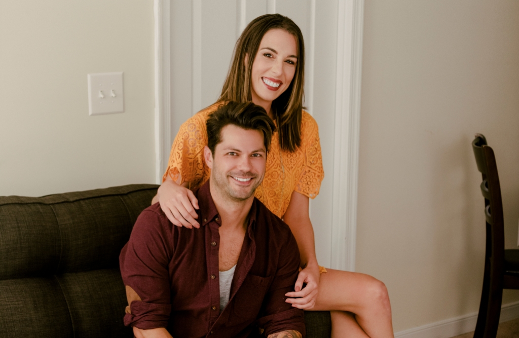 Mindy Shiben and Zach Justice on Married at First Sight Season 10
