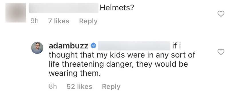 OutDaughtered Star Adam Busby Slams Concerns His Daughters Are in Danger Without Helmets