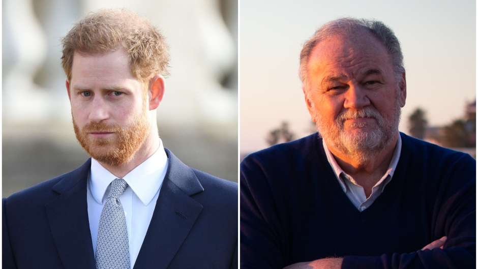 Prince Harry Texted Meghan Markle's Dad Thomas Prior to Wedding