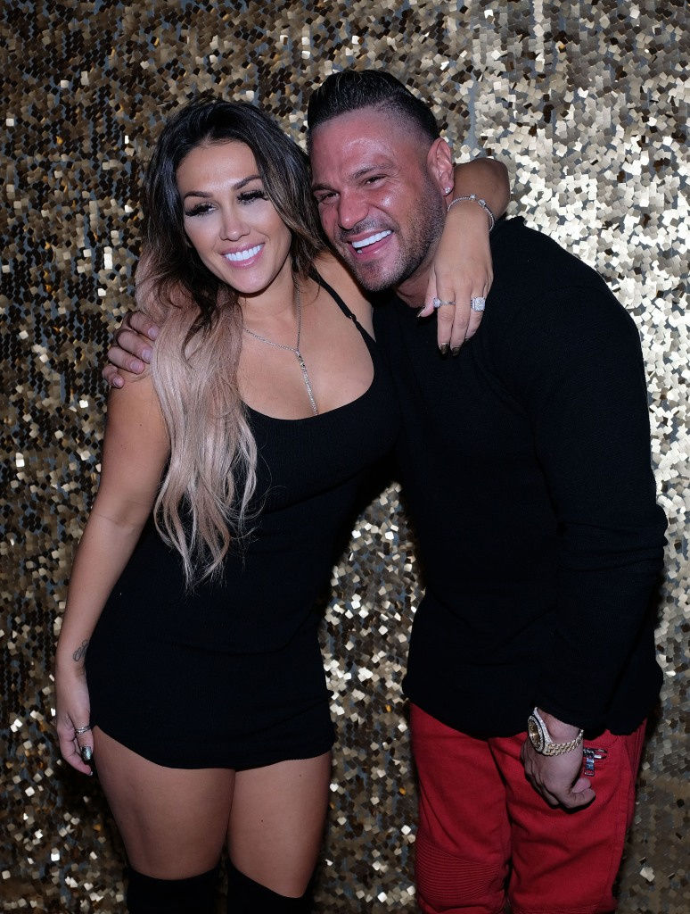 Ronnie Ortiz-Magro Jen Harley Photos