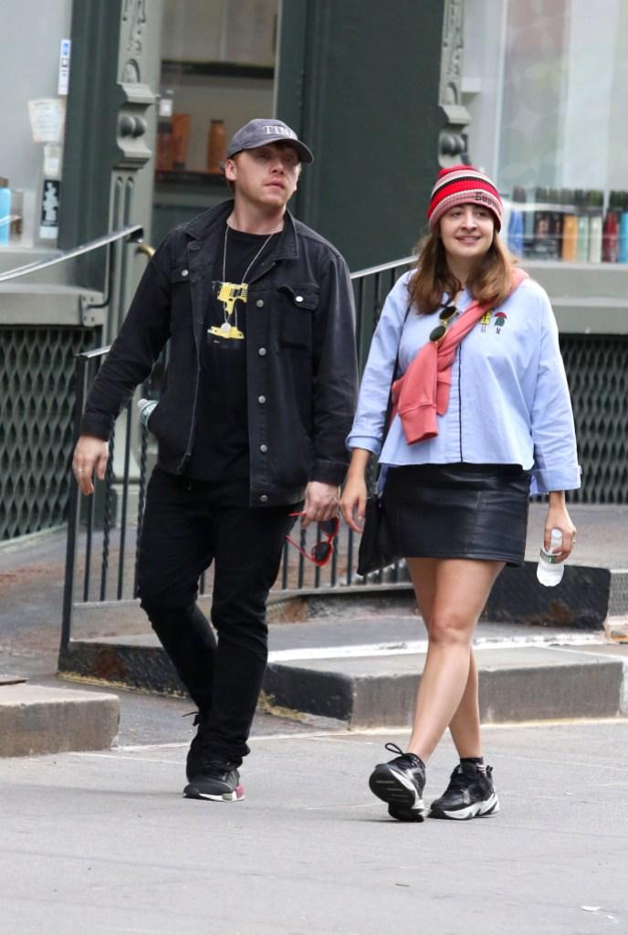Rupert Grint's Partner Georgia Groome Gives Birth