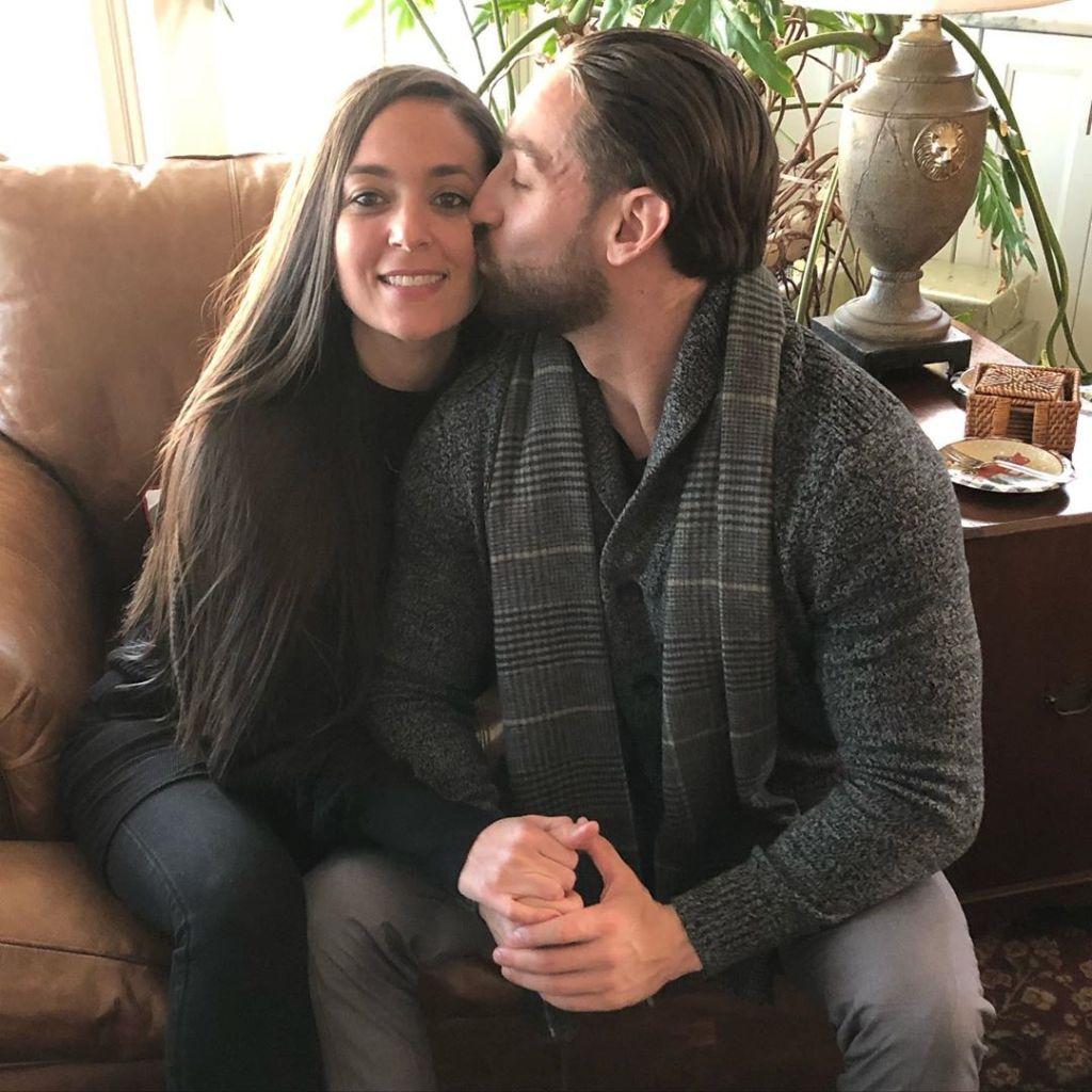 Christian Biscardi Kisses Sammi Sweetheart Giancola's Cheek