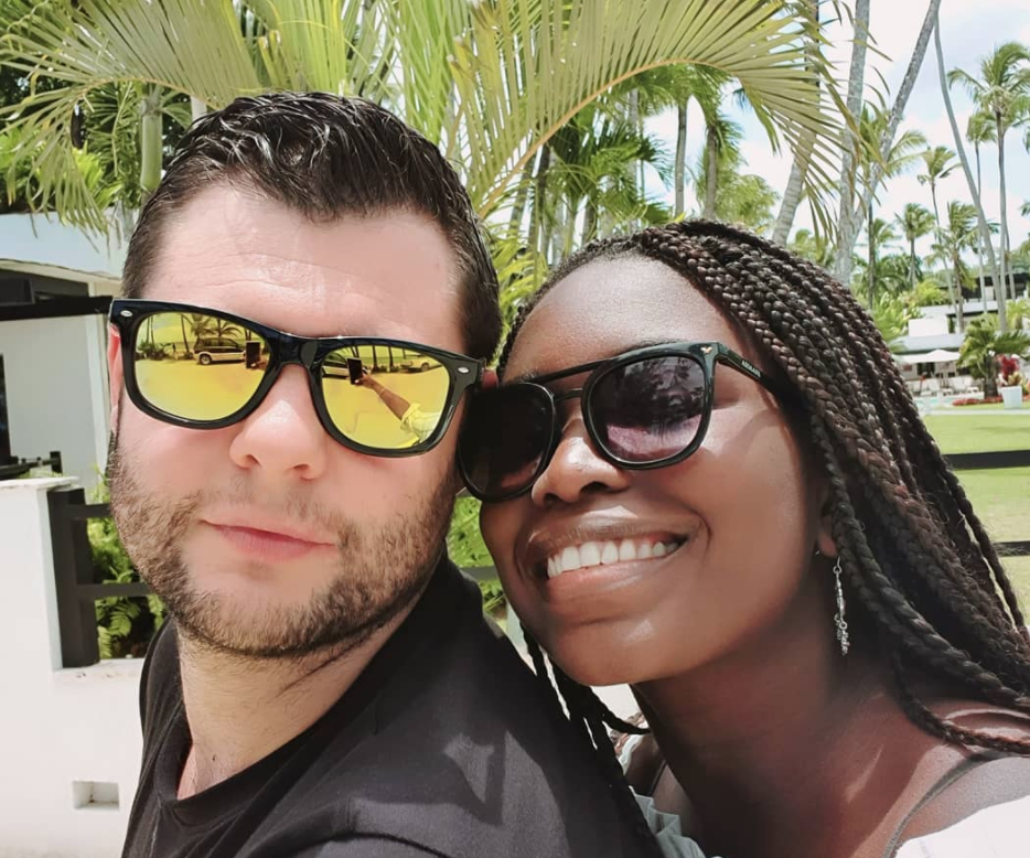 90 Day Fiance's Abby With Husband Louis