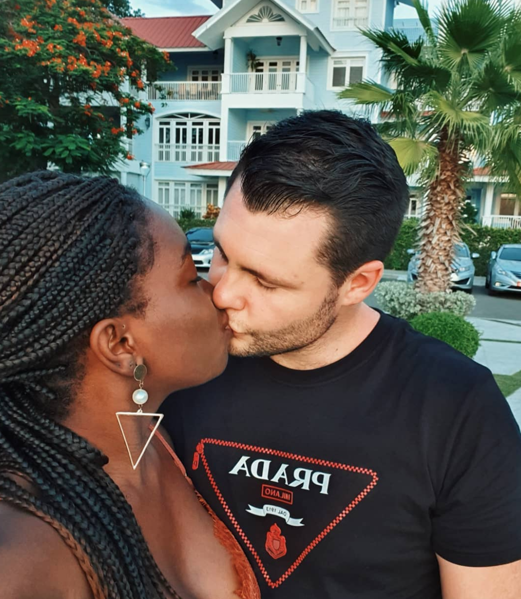 90 Day Fiance Star Abby and Husband