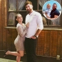 Inset Photo of Nathan Griffith and Kaiser Over Photo of Jenelle Evans and David Eason