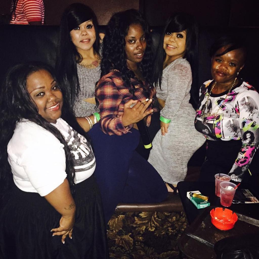 Little Women Atlanta Cast Hangs Out at Bar