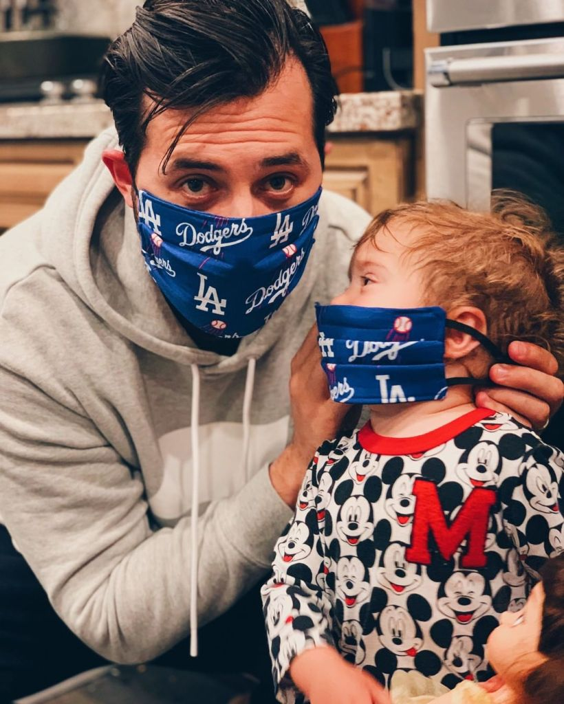 jeremy-vuolo-and-baby-facemasks
