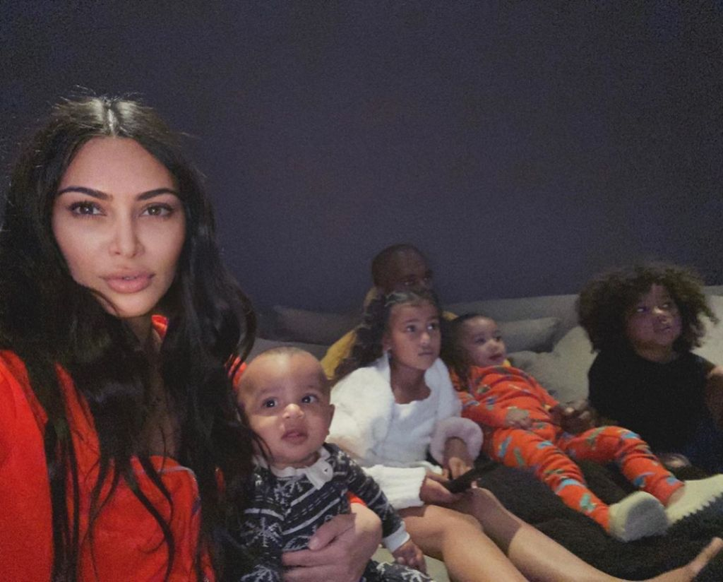 Kim Kardashian in Quarantine