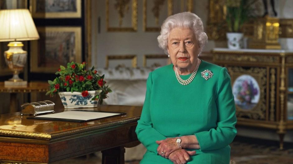 queen elizabeth rare tv speech coronavirus