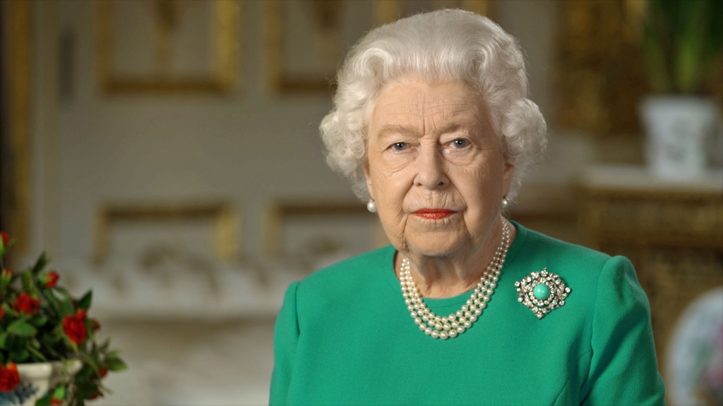 queen elizabeth rare tv speech