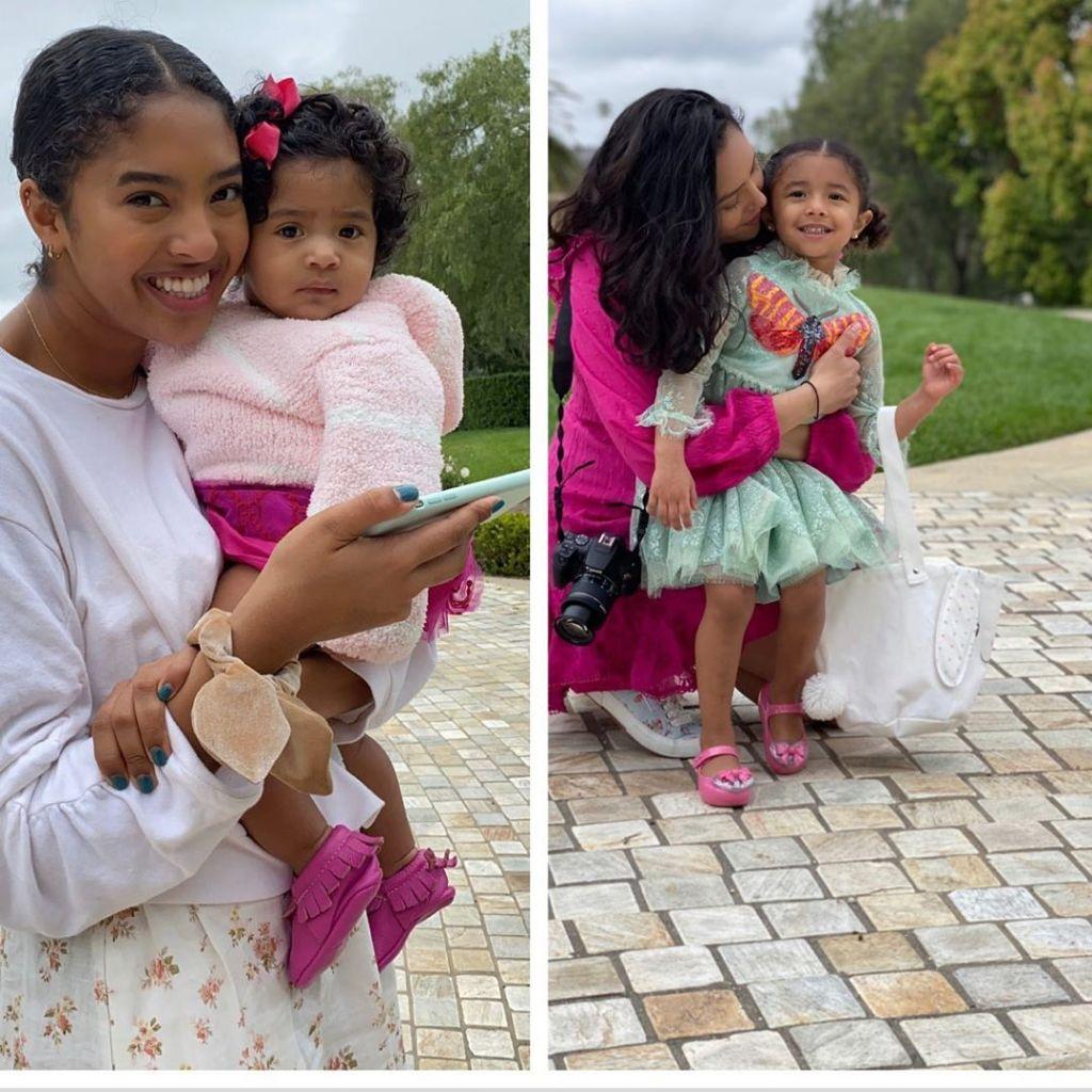 vanessa-bryant-daughters-easter
