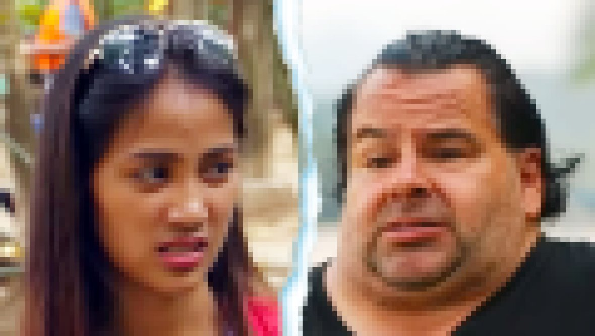 90 Day Fiance Rose and Big Ed Split