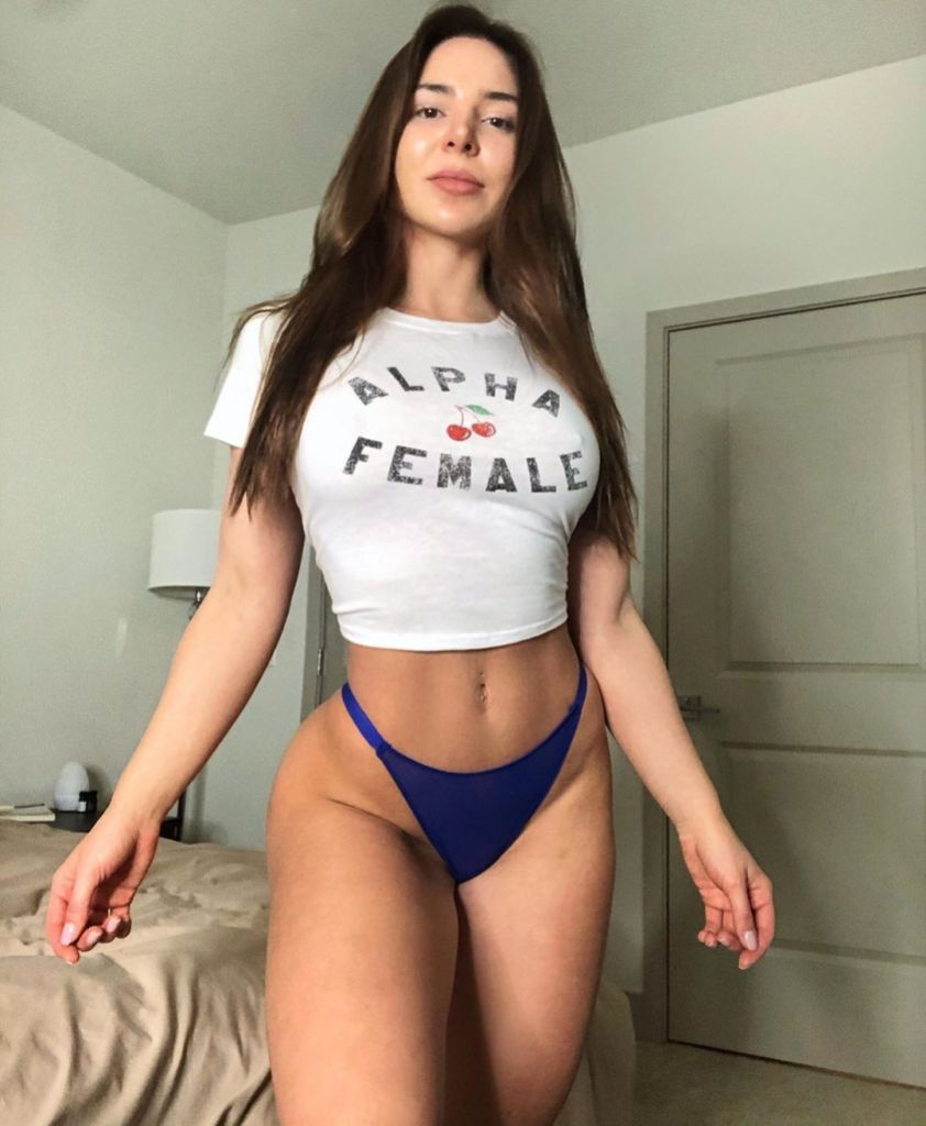 90 Day Fiance Star Anfisa Nava Shows Off Fit Figure in Alpha Female Shirt