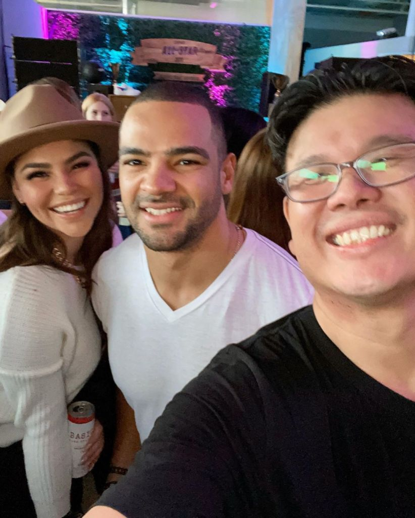90 Day Fiance Star Fernanda Flores and The Bachelorette Star Clay Harbor Hung Out in February 2020