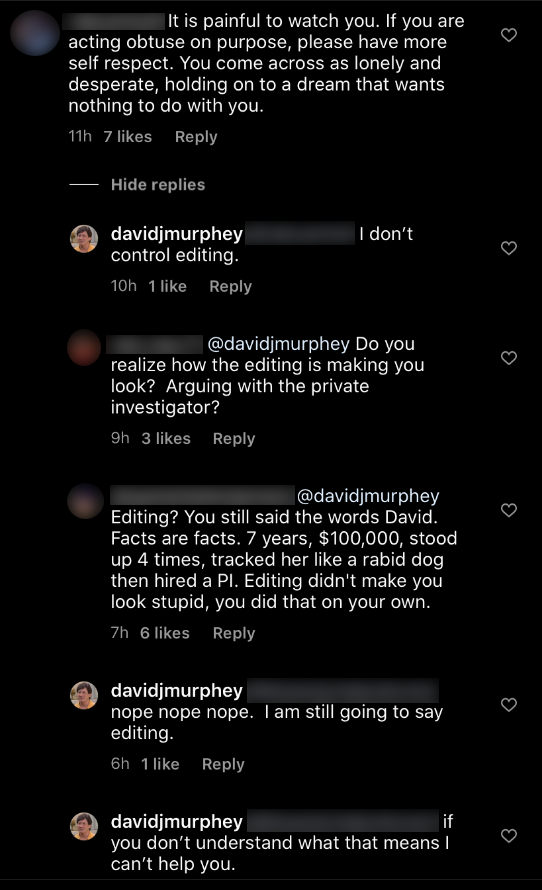 90 day fiance david blames editing instagram comment