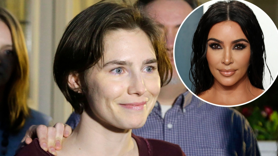 Amanda Knox Praises Kim Kardashian