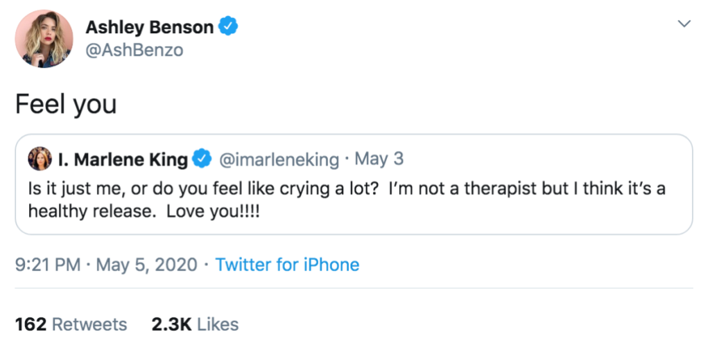 Ashley Benson Has Been 'Crying a Lot' Amid Cara Delevingne Split