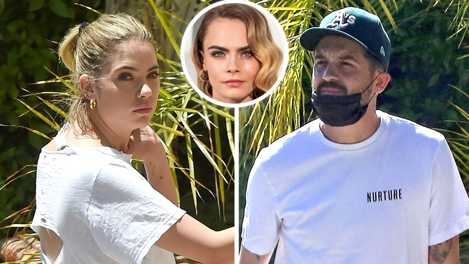 Ashley Benson Spotted Outside G-Eazys Home Following Cara Split