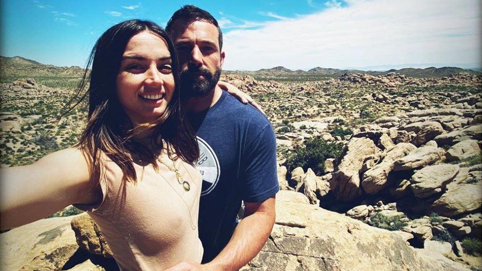 Ben Affleck Celebrates Ana de Armas' Birthday in Yucca Valley California