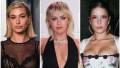 Hailey Baldwin, Miley Cyrus, Halsey